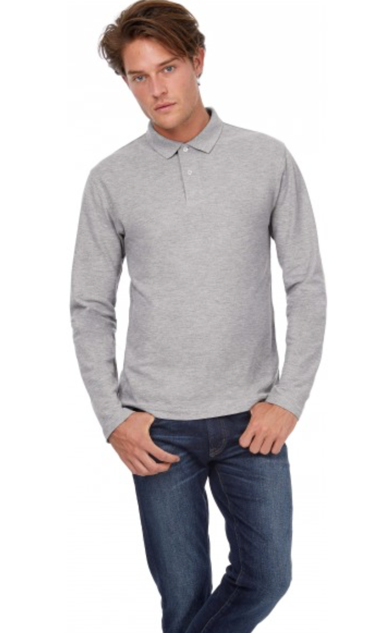 Polo homme manches longues - CGPUI12